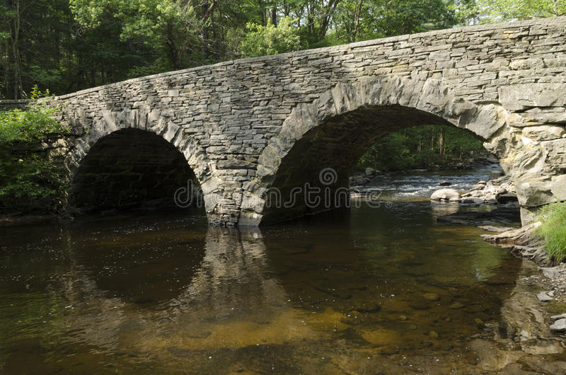 Download Stone Arch Bridge Over Ten Mile River, Tusten NY Stock Photo - Image: 25567852