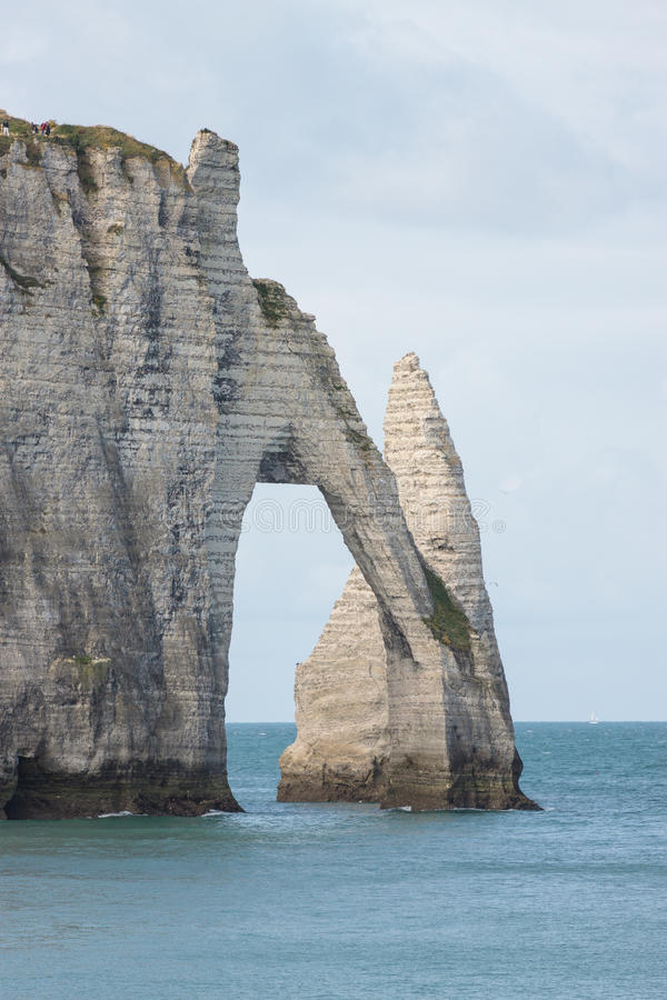 Download Stone Arch In Normandy Coast In France Stock Photo - Image: 26638970