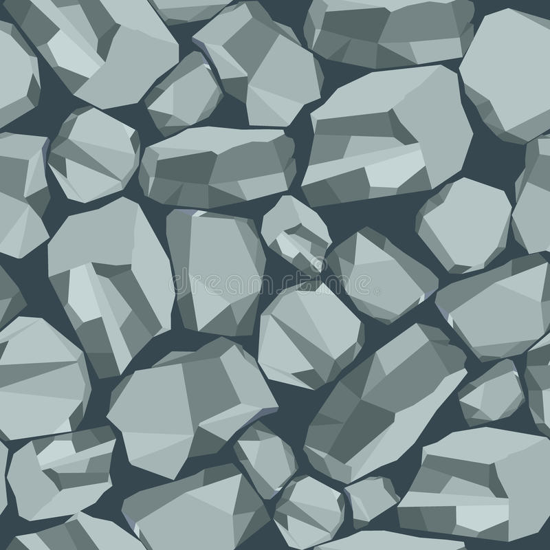 Stone background grey royalty free illustration
