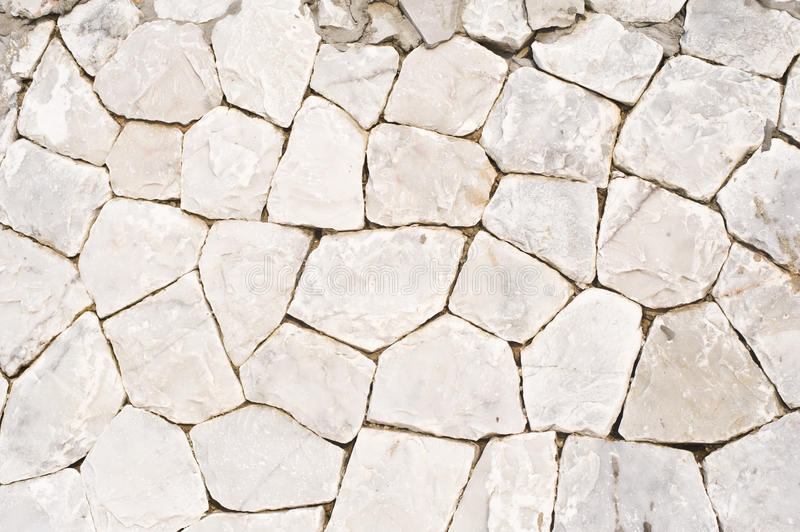 Stone backgrounds. Made to wall of house stock photography