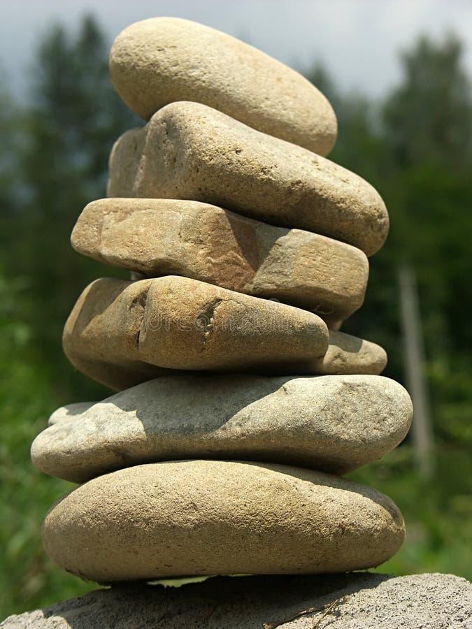 Stone balance stock images