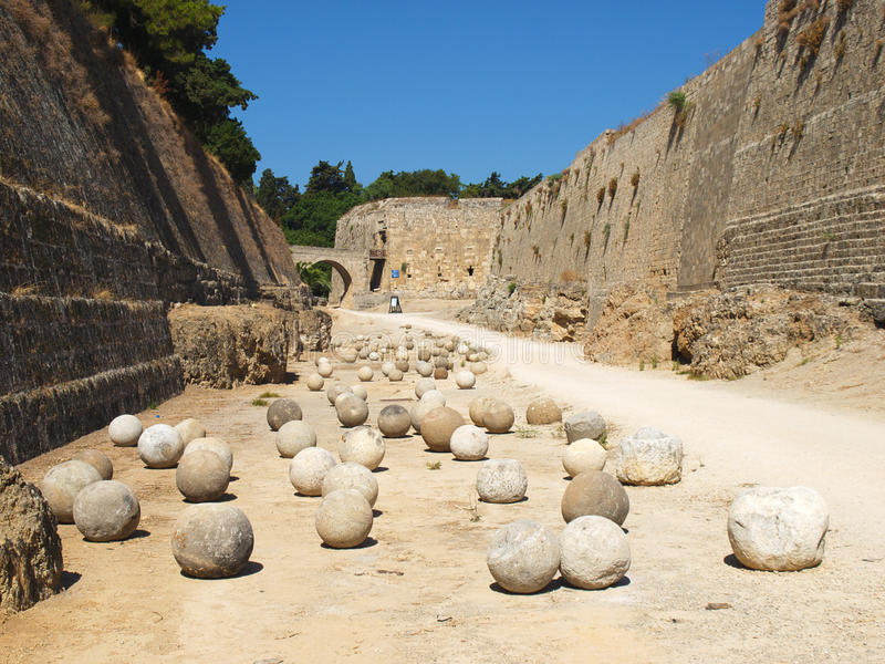 Download Stone balls stock image. Image of historic, greek, history - 10593605
