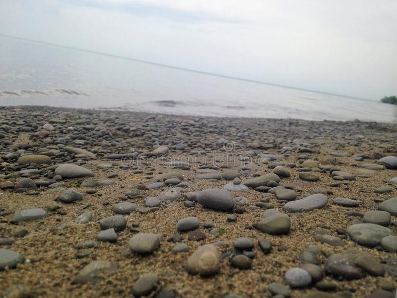 Stone Beach royalty free stock photo