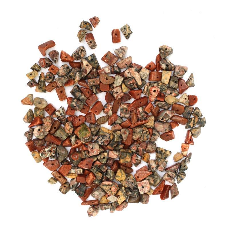 Stone beads stock photography