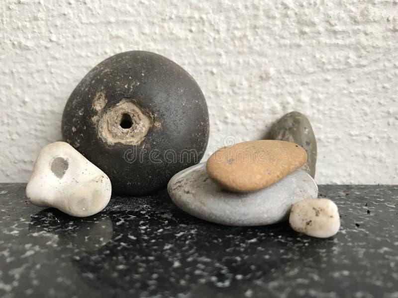 Stone bird stock photo