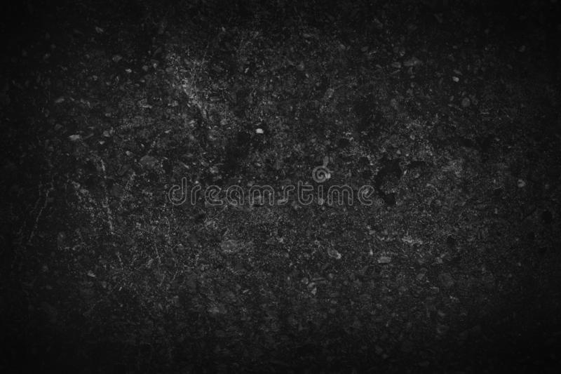 Stone black background texture. Blank for design.  royalty free stock photos