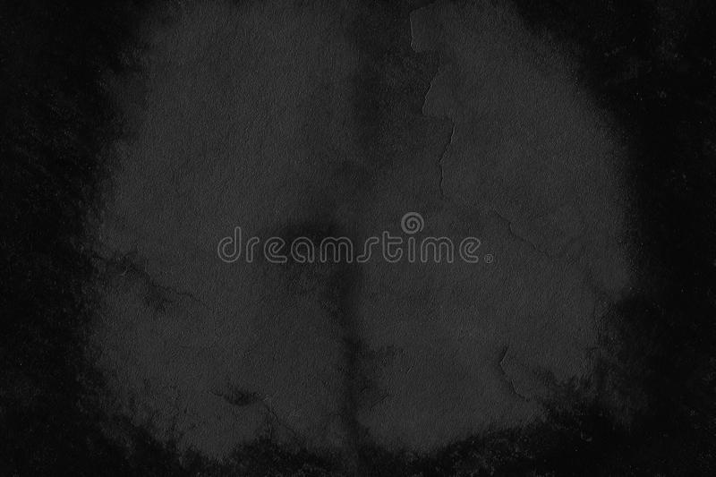 Stone black background texture. Blank for design stock image