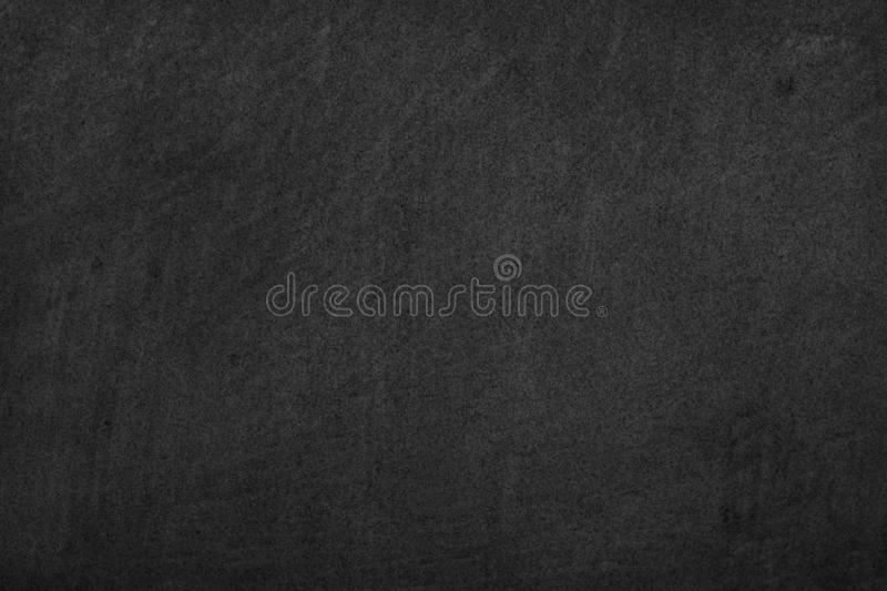 Stone black background texture. Blank for design.  royalty free stock photo
