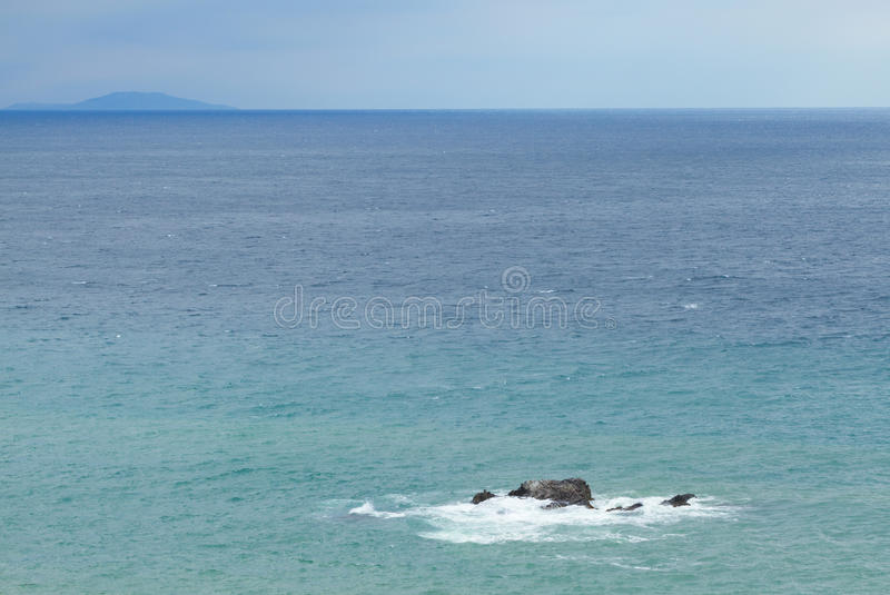 Download Stone on the black sea stock photo. Image of summertime - 41920510