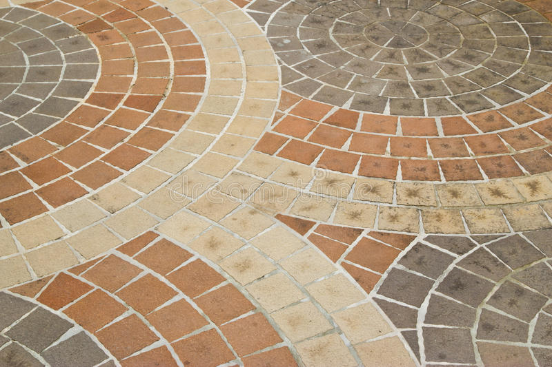 Stone block paving stock image