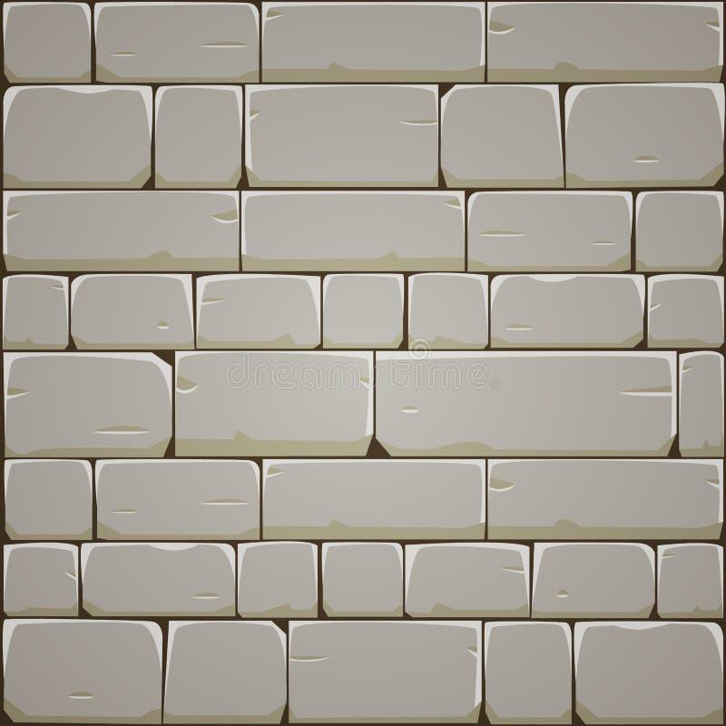 Stone Block Wall royalty free illustration