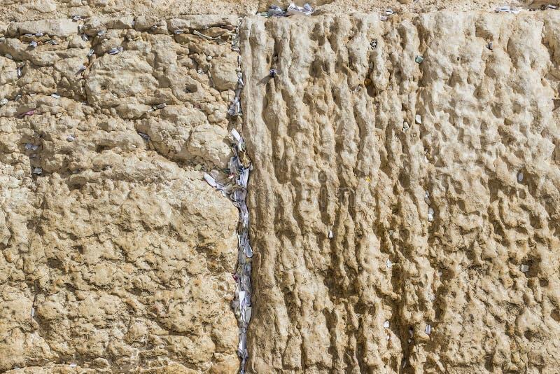 Stone blocks of the crying wall royalty free stock photos