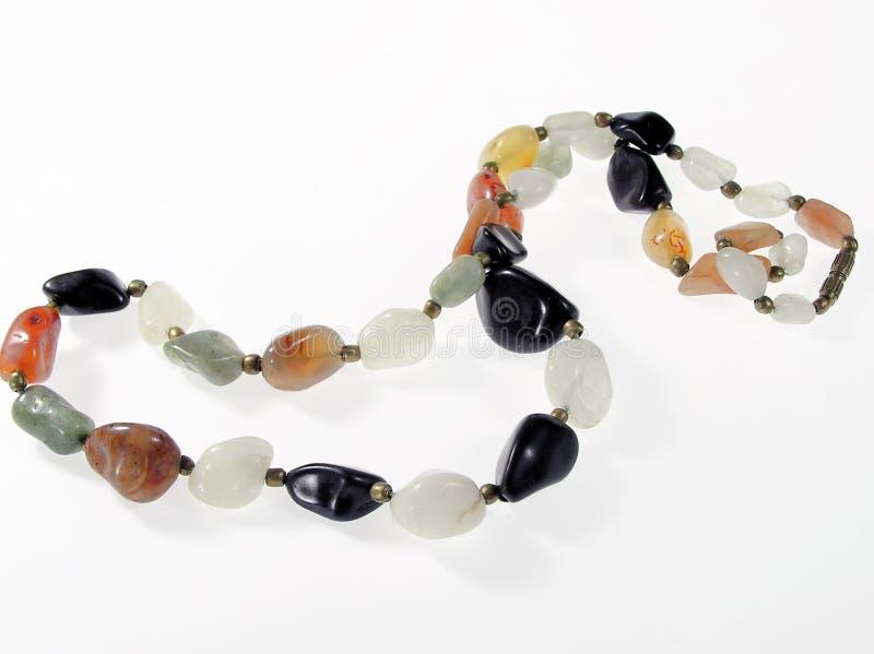 Stone bracelet stock photos