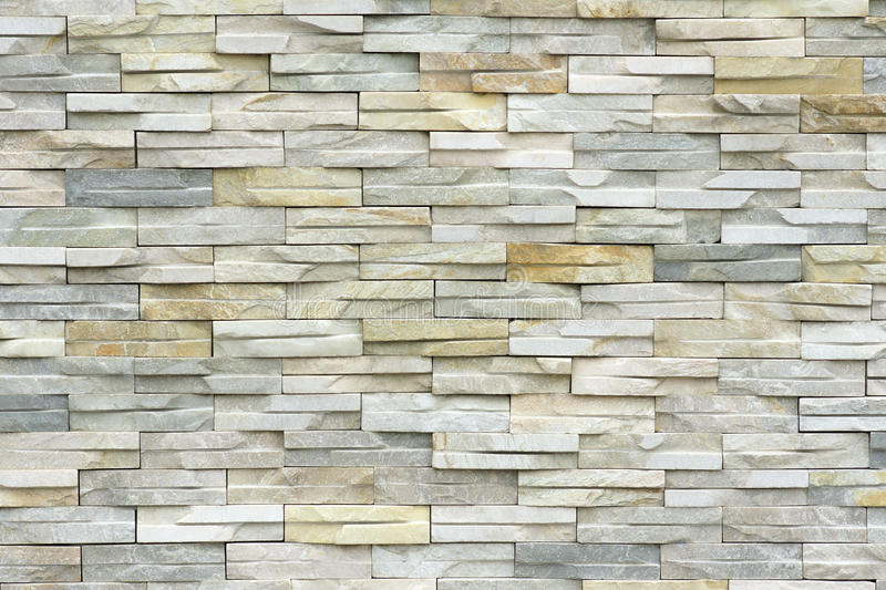 Stone brick wall stock image