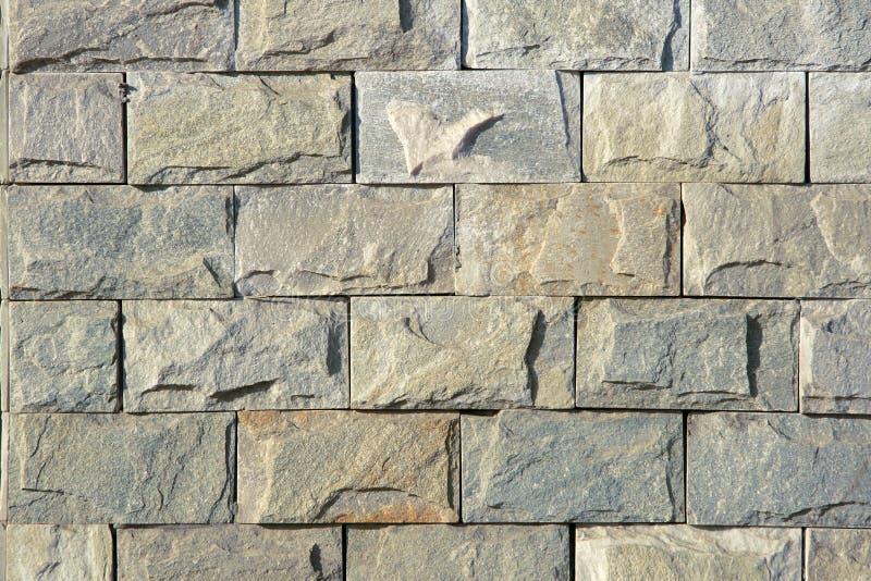 Stone brick wall royalty free stock photo