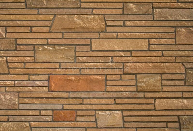 Stone brick wall texture royalty free stock photo