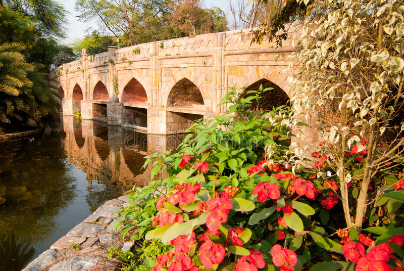 Stone Bridge Royalty Free Stock Photo