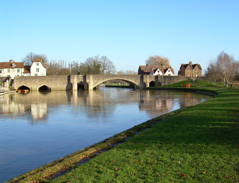 Download Stone Bridge Across The River Stock Photo - Image of bank, attraction: 7366866