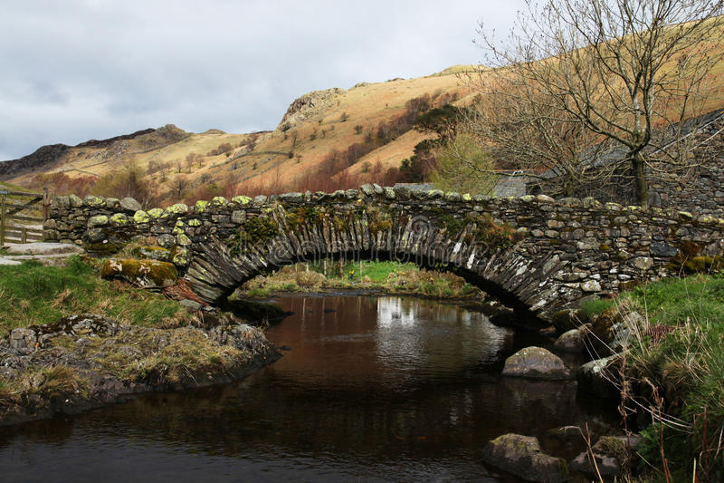 Download Stone Bridge In The English Lake District Stock Image - Image: 24386017
