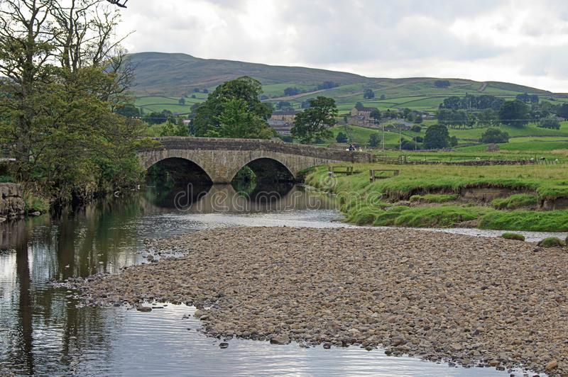 Stone Bridge in the Yorkshire Dales royalty free stock image