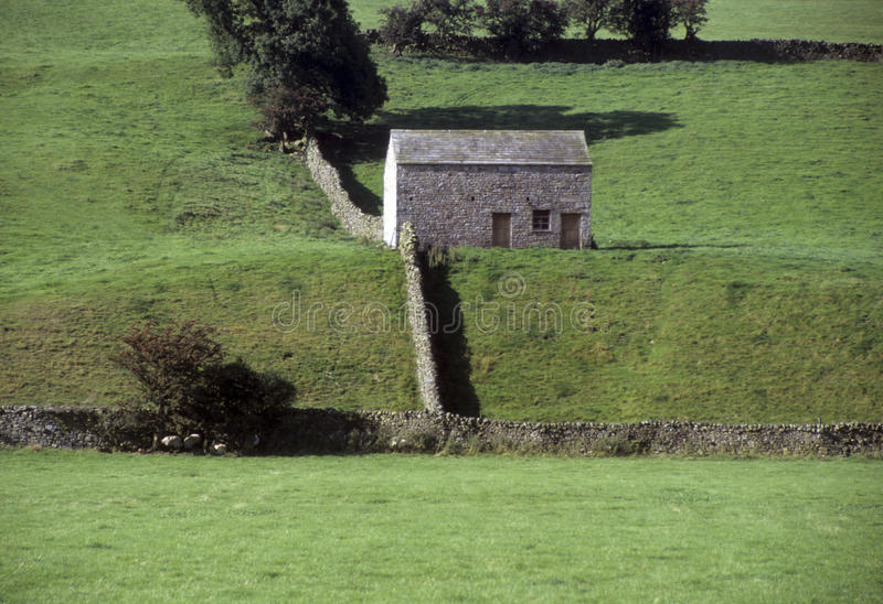 Stone Building In English Rural Royalty Free Stock Photography