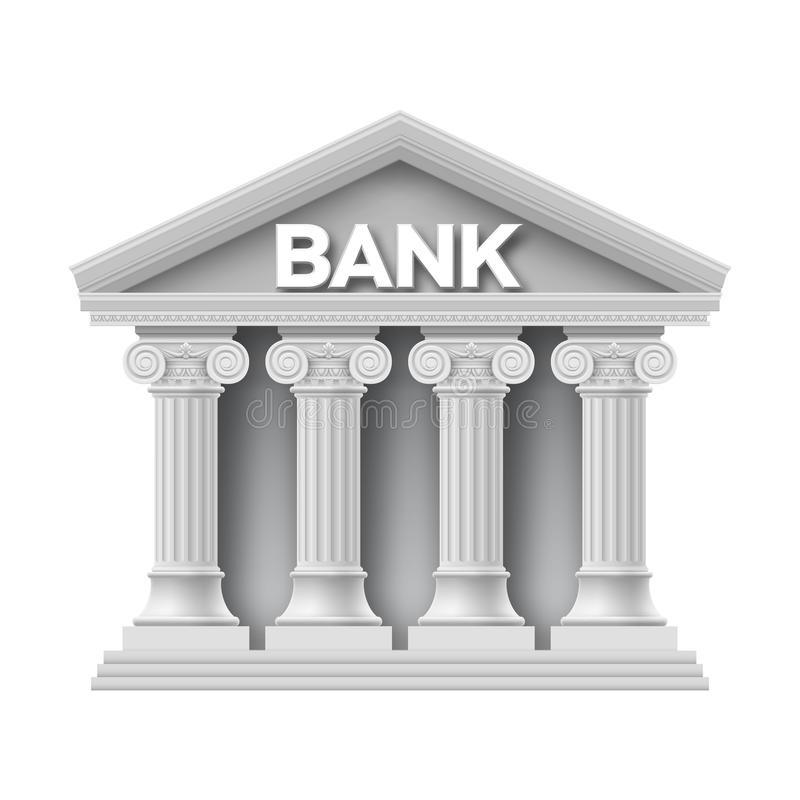 Free Stone Building Of Bank Royalty Free Stock Photos - 42595998