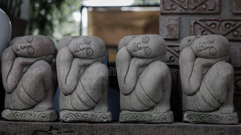 Stone carve stock photo