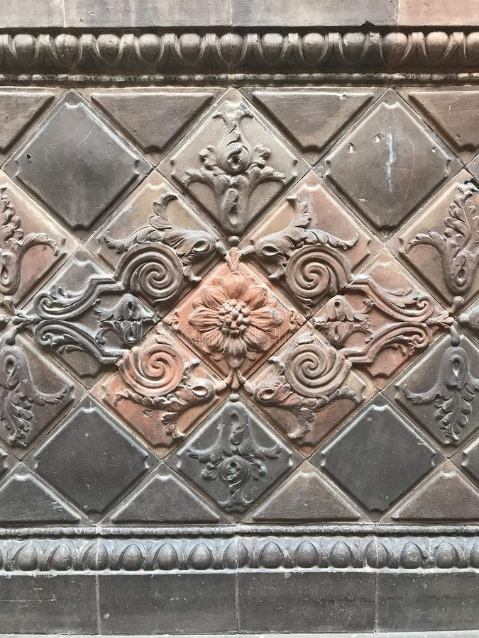 Stone Carving, Metal, Structure, Pattern stock photo