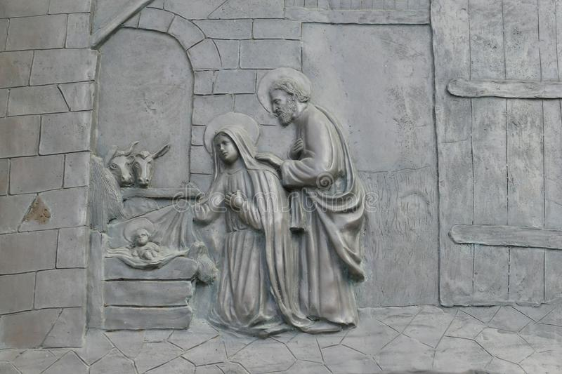 Stone Carving, Sculpture, Relief, Statue stock image