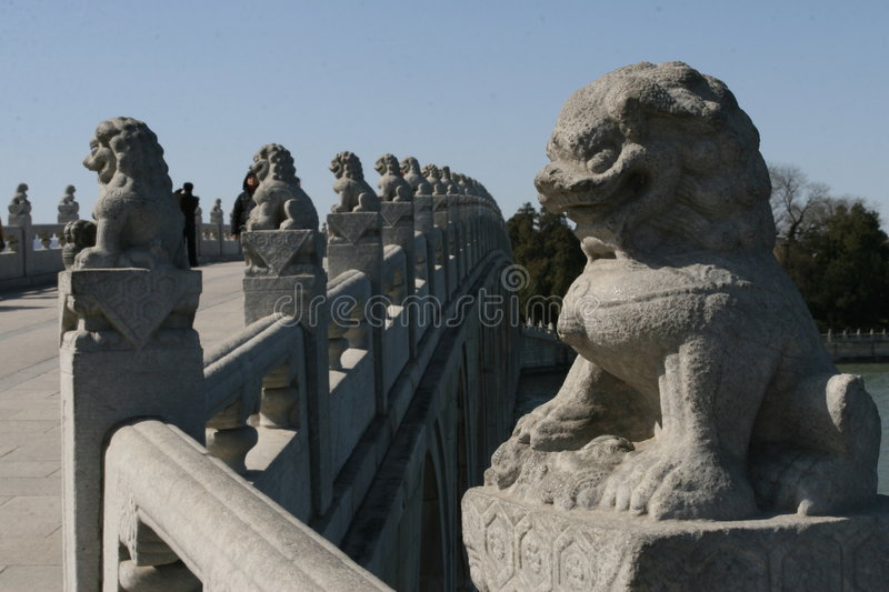 Stone carving in summer palace royalty free stock photos