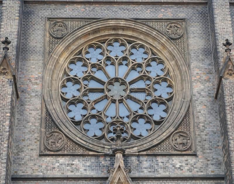 Stone Carving Wall Gothic Architecture Symmetry