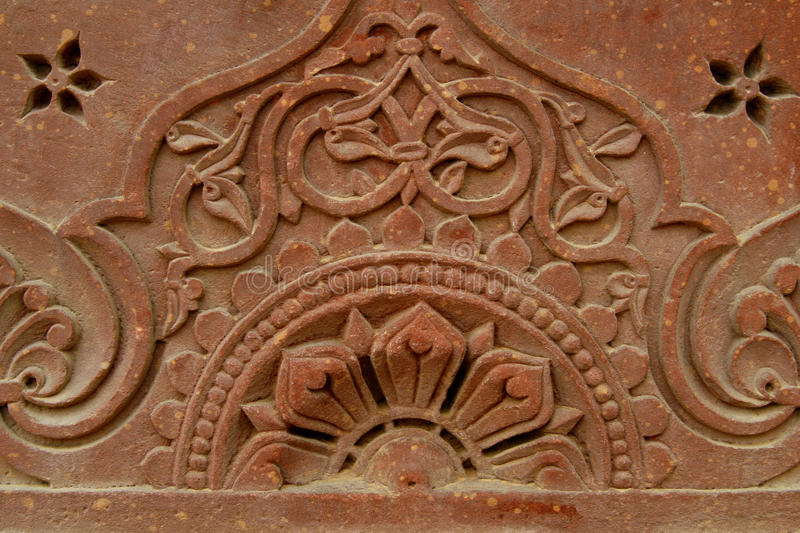 Download Stone Carvings On The Temple Wall, India Stock Photo - Image: 11172008