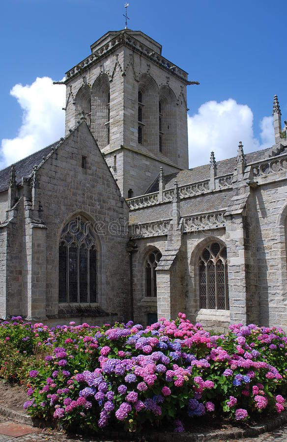 Download Stone church in Brittany stock photo. Image of brittany - 27818966