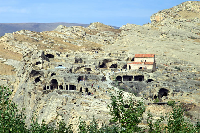 Download Stone city in Upliscikhe stock image. Image of entrance - 16528343