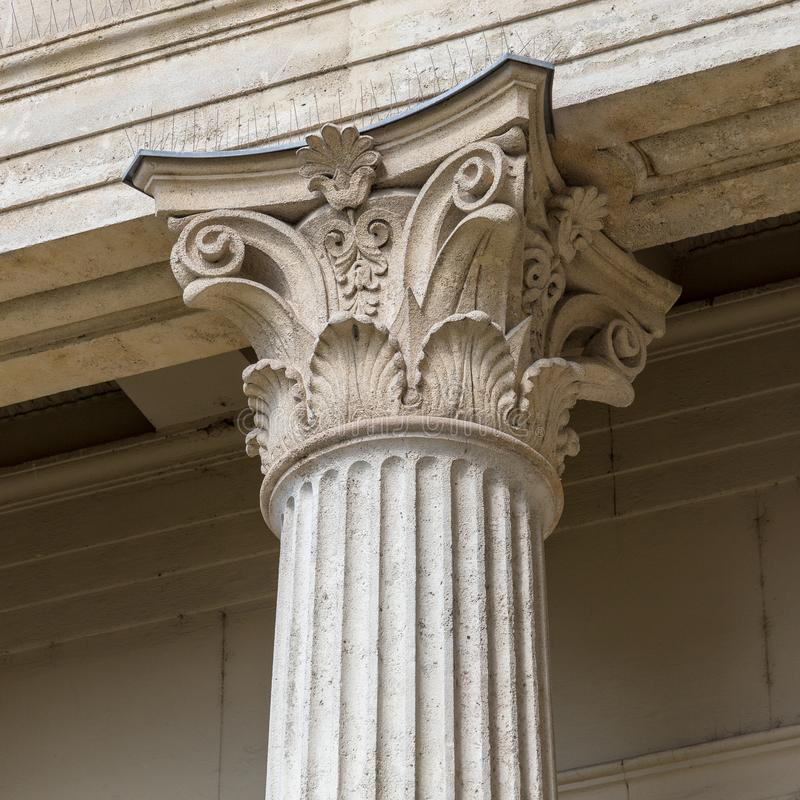 Free Stone Column Ancient Classic Architecture Detail Stock Image - 118311841