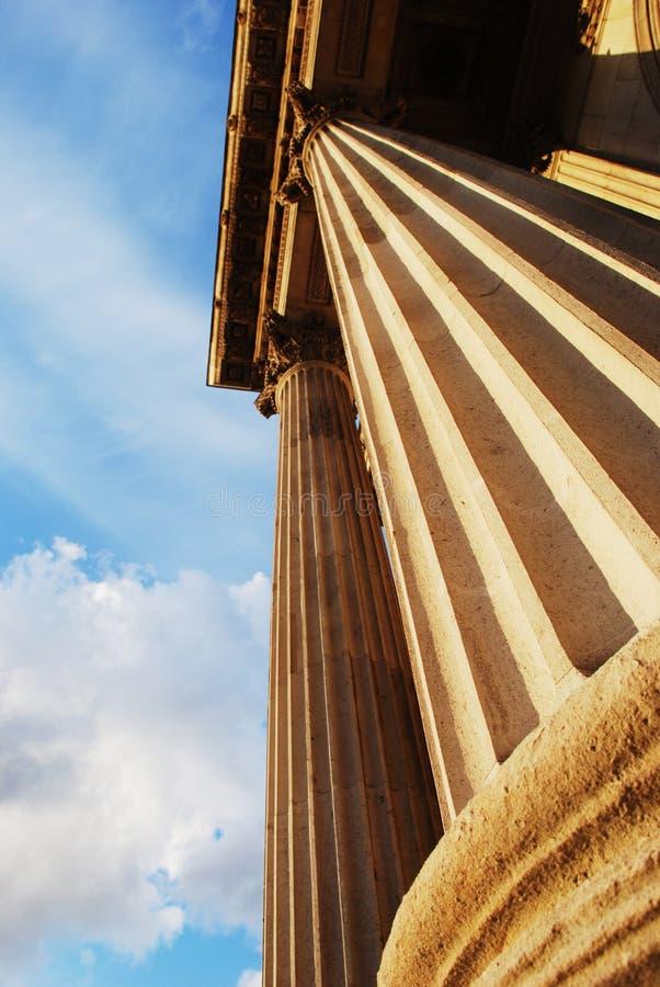 Stone columns royalty free stock photos