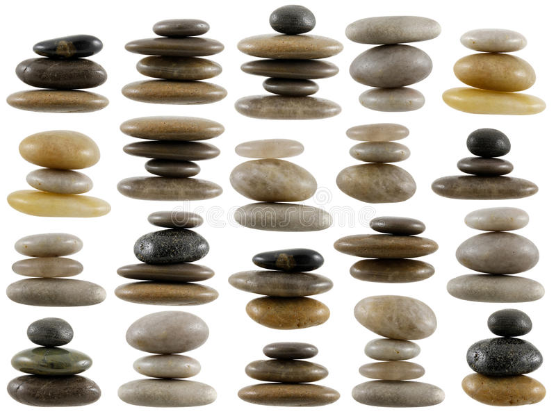 Download Stone composition stock image. Image of isolated, grey - 18410671