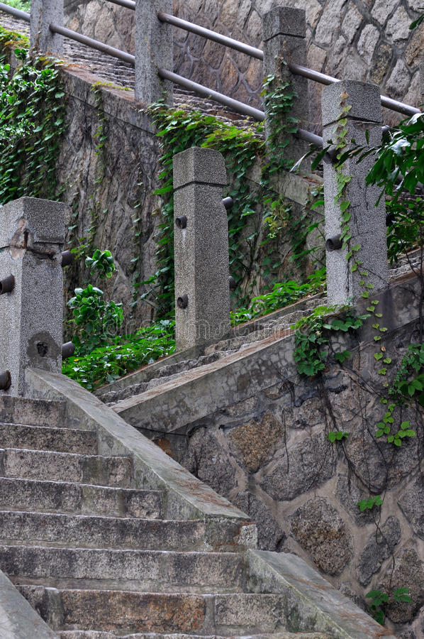 Download Stone and concrete stair stock image. Image of stage - 25412051