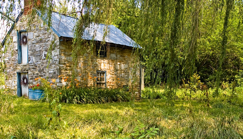 Stone Cottage - 2 royalty free stock images
