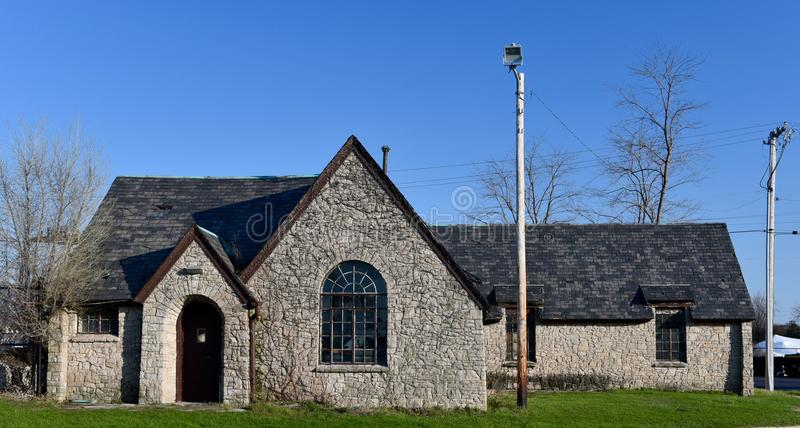 Stone Cottage royalty free stock images