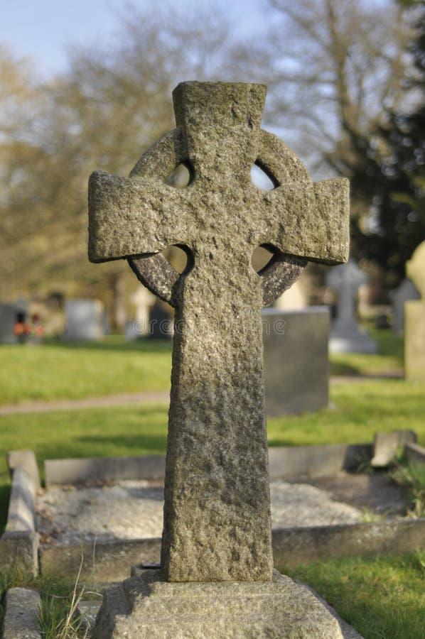 Stone Cross stock photo