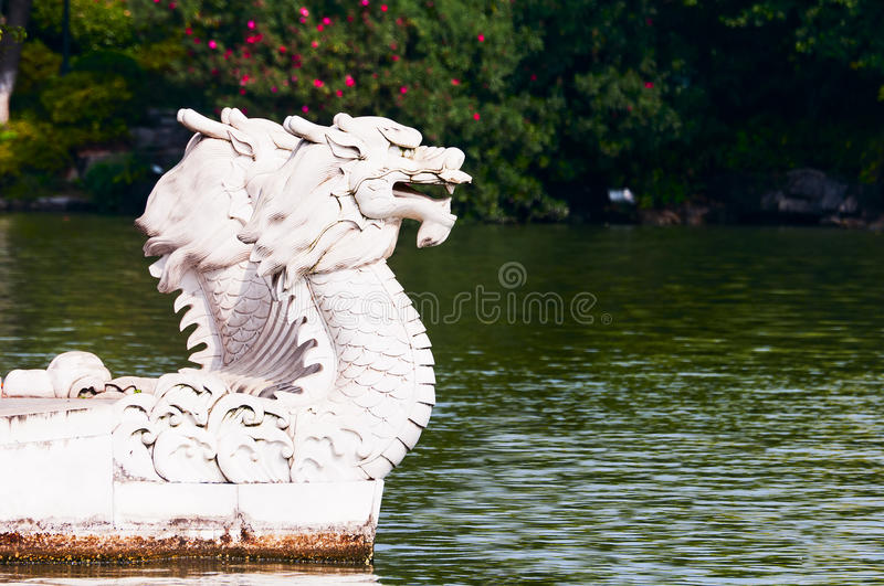 Download Stone  dragon stock image. Image of white, reproduction - 21921095
