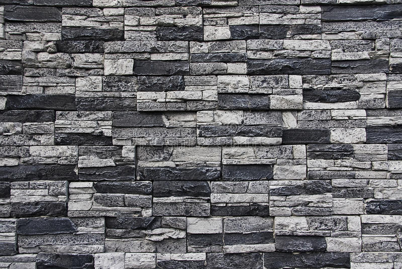 Stone facade wall stock photo. Image of face, wall, construction ...