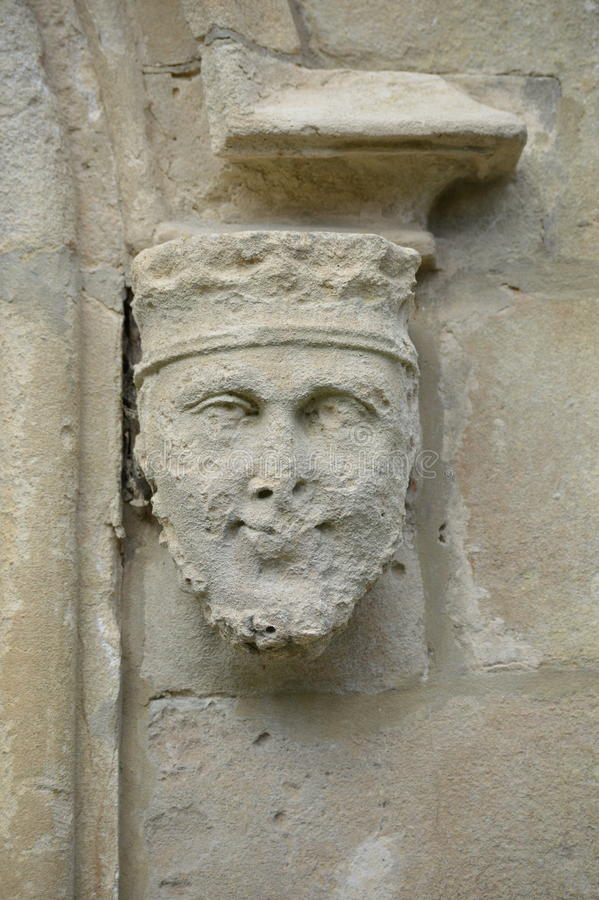 Download Stone Face Statue - Portmerion Village In Wales Stock Photo - Image of english, gwynedd: 91014444