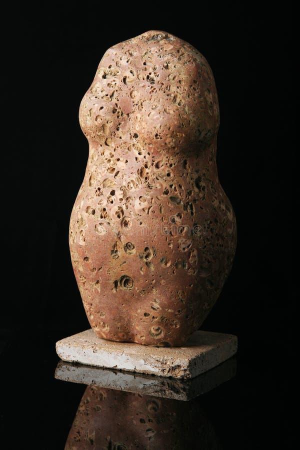 Download Stone figure stock image. Image of black, figure, isolated - 10929329