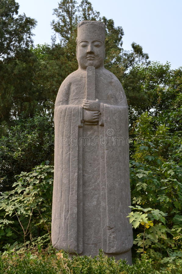 Stone Figure at Song Dynasty Tombs, Gongyi, China