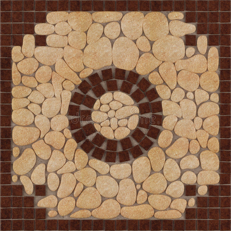 Stone And Tile Works : Stone floor pattern tiles stock photography image