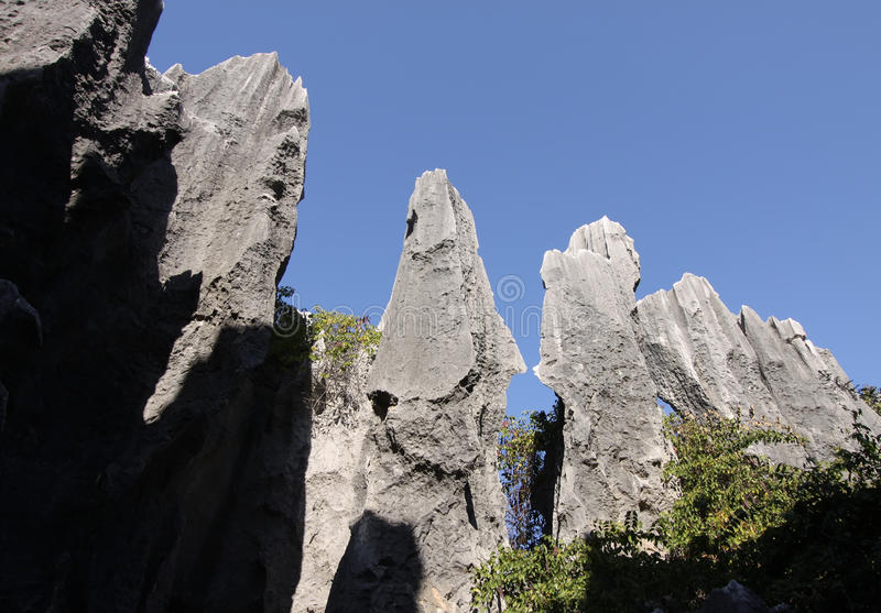Download Stone Forest Shilin Yunnan Province China Stock Image - Image of yunnan, heritage: 13946295