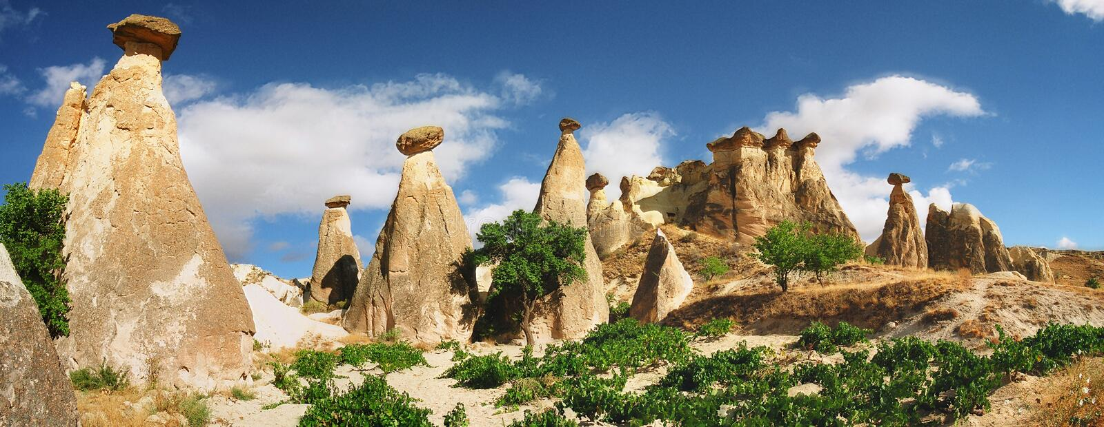 Stone formations stock image