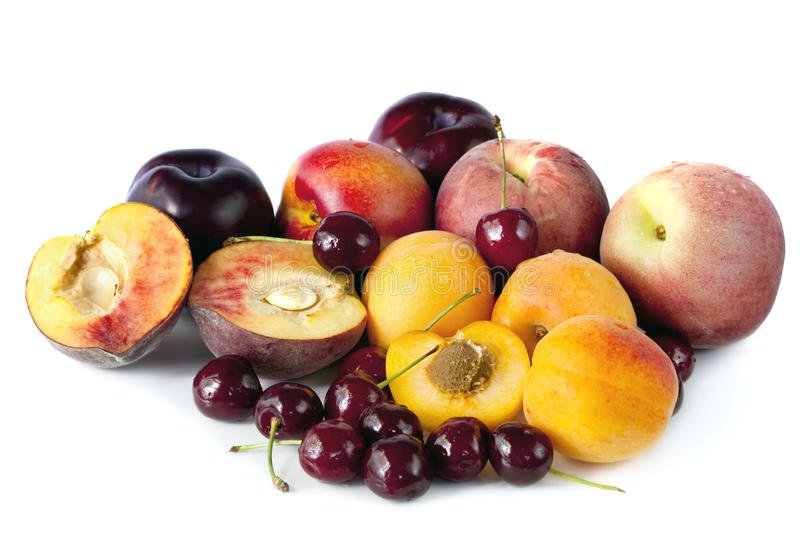Download Stone Fruits stock photo. Image of variety, eating, apricot - 17401840